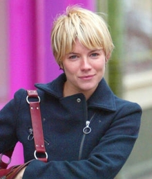 Celebrity Short Hair Style Especially Blonde Short Hair Cuts With Image Sienna Miller Short Hair Gallery Pictures 5