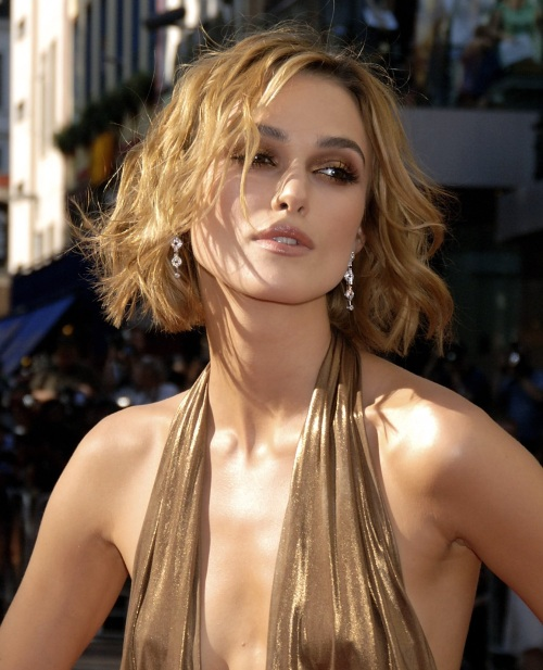 keira knightley hair color